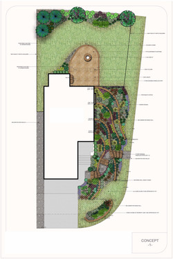 Sample Design - Corner Lot