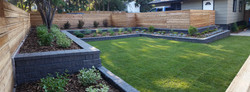 Cedarbrae Sunken Backyard