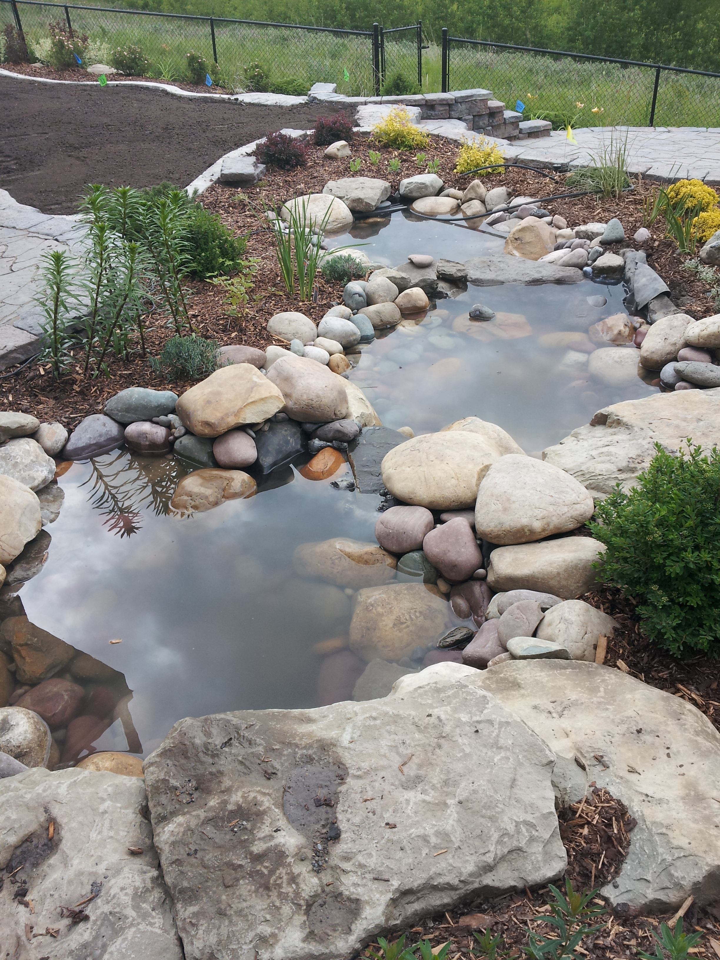Aspen Estates Water Feature