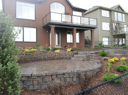 Flagstone Paver with Belvedere Wall