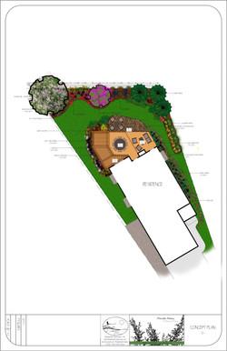Sample Design - Pie-shaped Lot