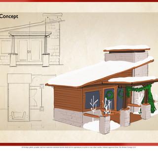Mountain Cabin Concept