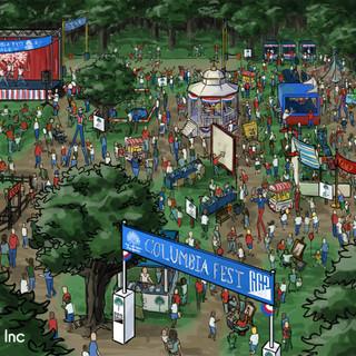Festival Rendering