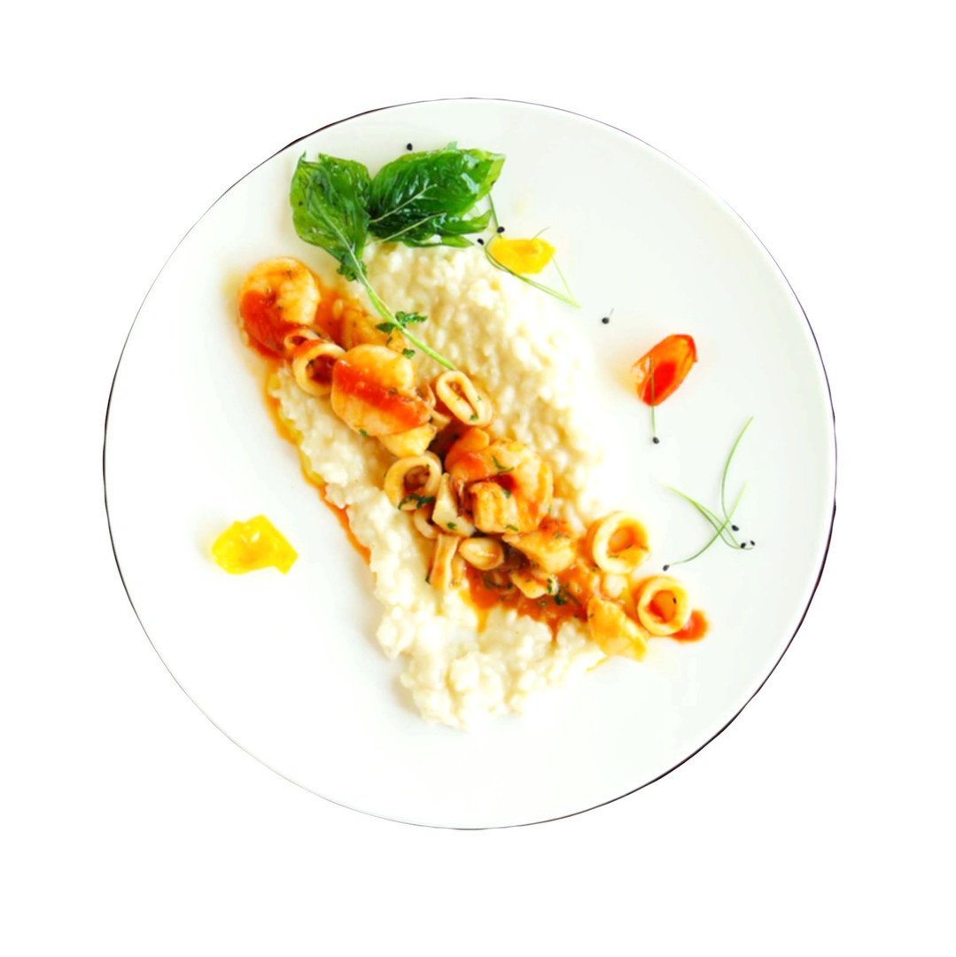 Open Seafood Risotto
