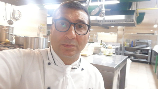 Chef Giuseppe Guddo Resort Saracen Sicily