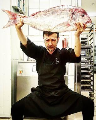 Chef Kenji Kume-Divan Maromi Restaurant.