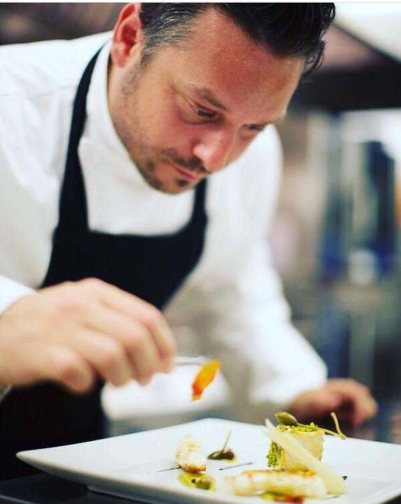 Chef Dario Abbate Mandarin Bodrom