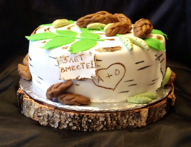 торт на деревянную свадьбу фото ему, премии, другим