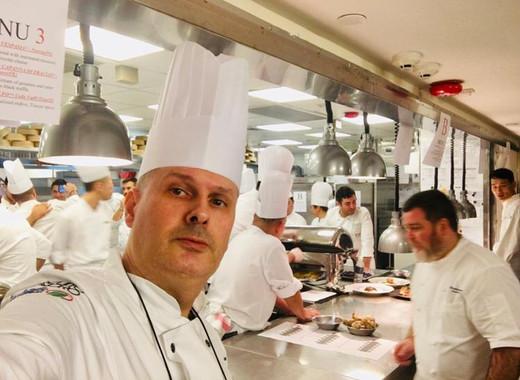 Chef Cladio Rossi Conrad Hong Kong