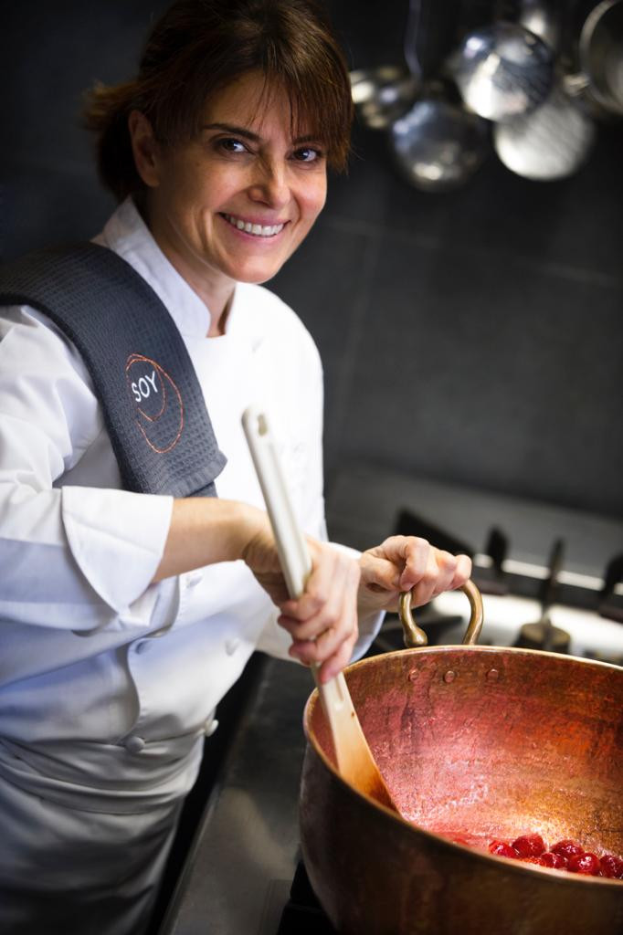 Chef Aylin Yazicioglu Nicole Restaurant  Istanbul