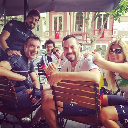 Coffee Break with the Team after Training