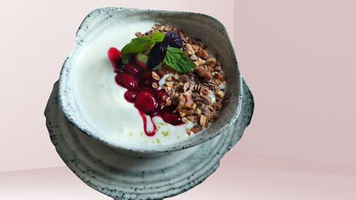 Yogurt Cerry Compote