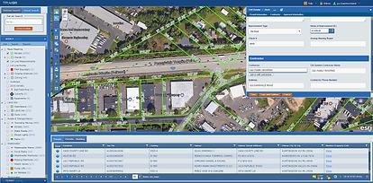 Permit management map