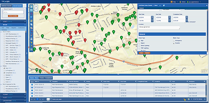Inspection management map