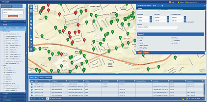 Inspection management map