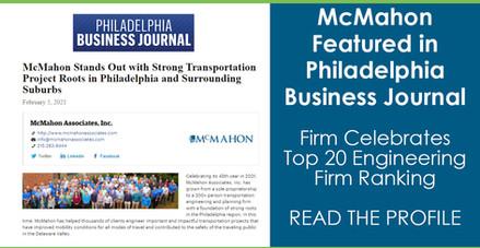2.24.21 - Philadelphia Business Journal