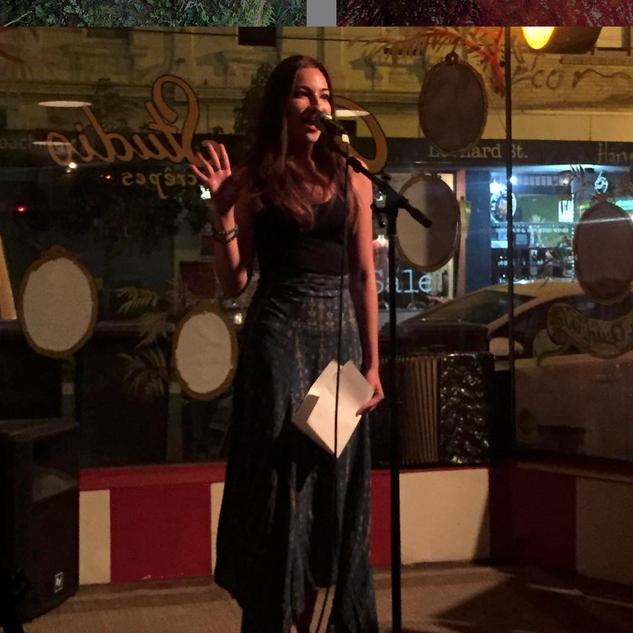Girls on Key Spoken Word Open Mic Performance