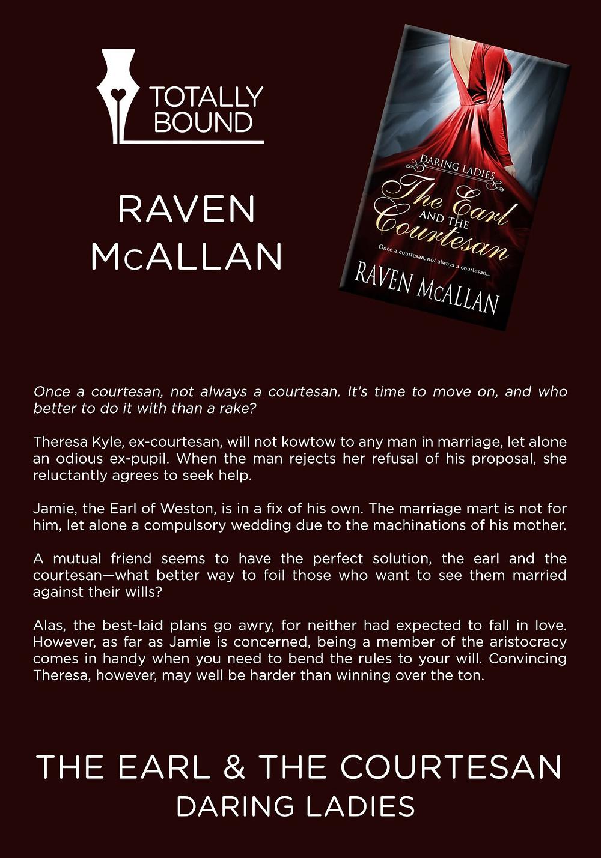 Romance, book details, book cover, Raven McAllan