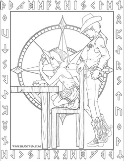 The First and Most Oft Repeated Lesson - Coloring Sheet