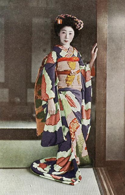 Suzohiki kimono