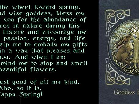 Easter Love from my Inner Druidess