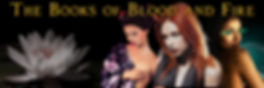 Book series, Blood and Fire, supernatural, vampire, geisha, african american woman, japanese woman, cat's eyes, romance, paranormal