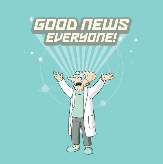 "Professor Farnsworth's ""Good News"""