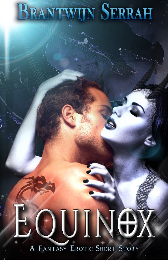 Book Cover; Equinox; Couple kissing