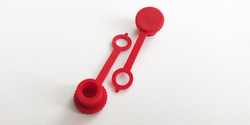 Grease Nipple Caps red
