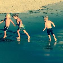Tres Amigos at the Beach