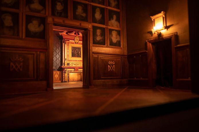 05_Diorama_chateau ducal de Cadillac, CM
