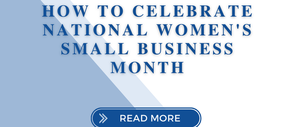 How to Celebrate National Women's Small Business Month