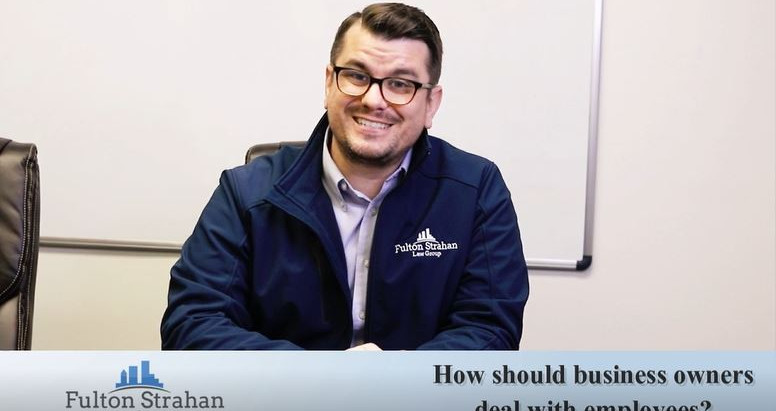 LAW HOUR | How Should Business Owners Deal With Employees?