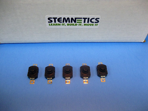 5 Pack - Standard Flashlight Replacement Switches