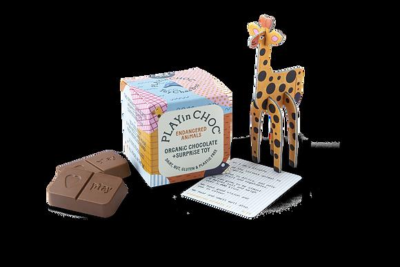 ToyChoc Boxes - Endagered Animals