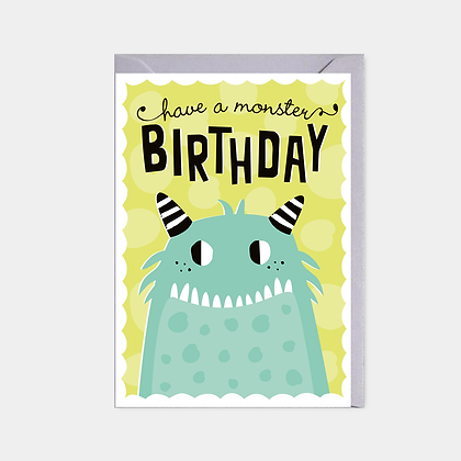 Have a Monster Birthday - Card