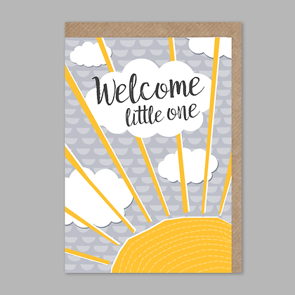 Welcome Little One: Sunshine Card