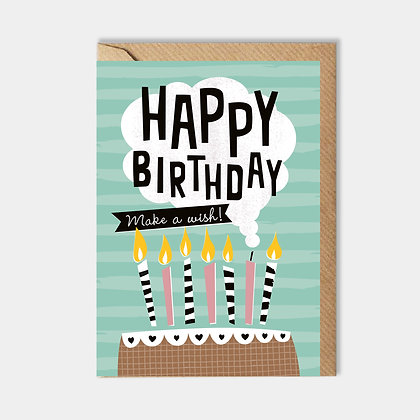 Happy Birthday: Make a Wish Card
