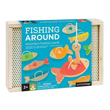 Wooden Game - Fishing Around
