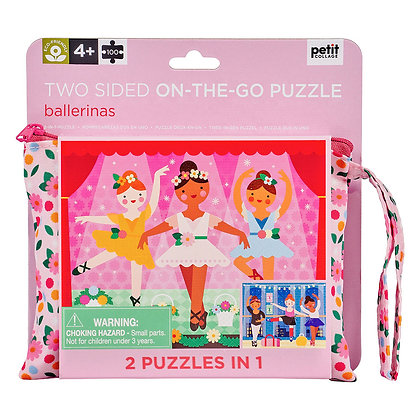 Two Sided On The Go Puzzle – Ballerina