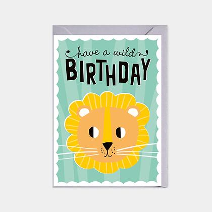 Have a Wild Birthday - Card