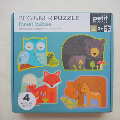 Beginner Puzzle- Forest Babies