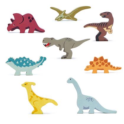 Set of 8 Dinosaurs