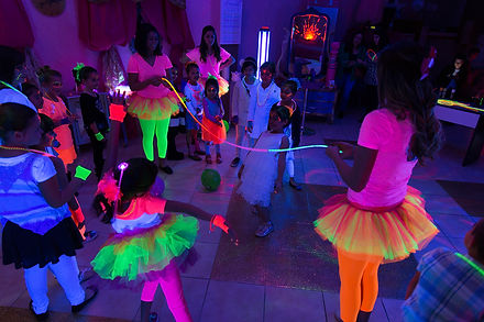 Glow Parties for Girls