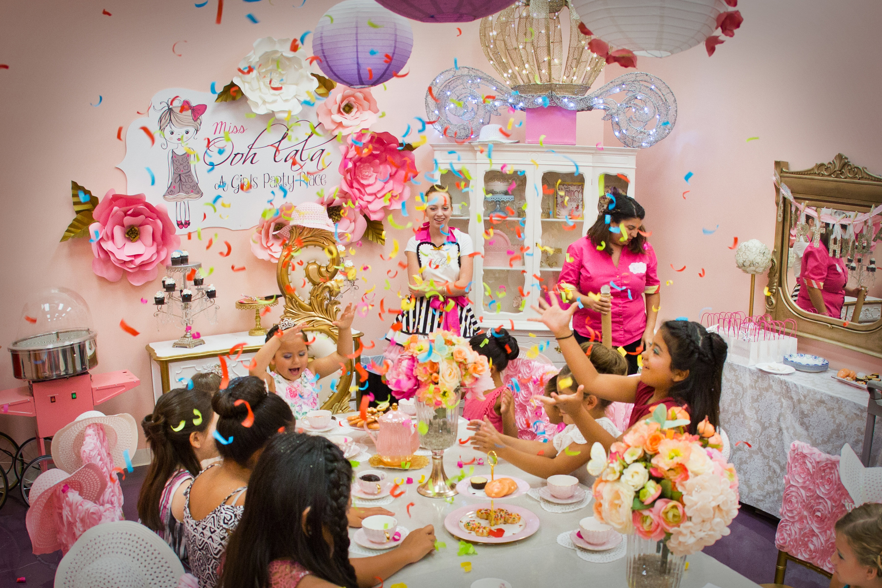 Miss Ooh Lala A Girls Party PlacePrincess PartyTea PartySpa