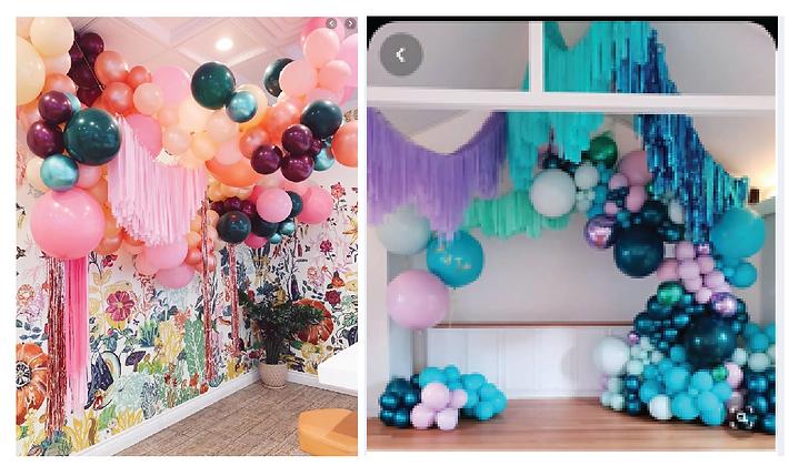 Custom Balloon Installations