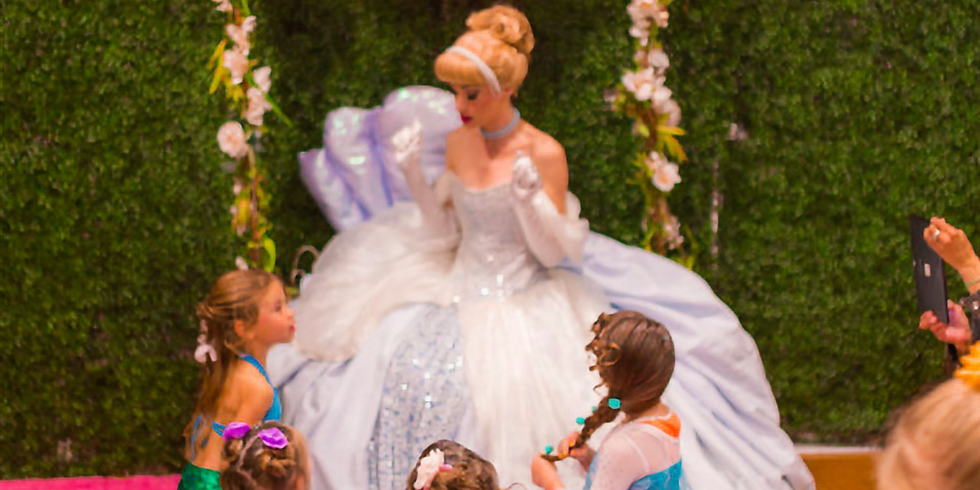 Cinderella's Mother's Day Tea Party