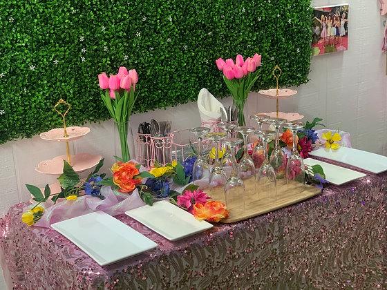 Parents Lounge Service Table