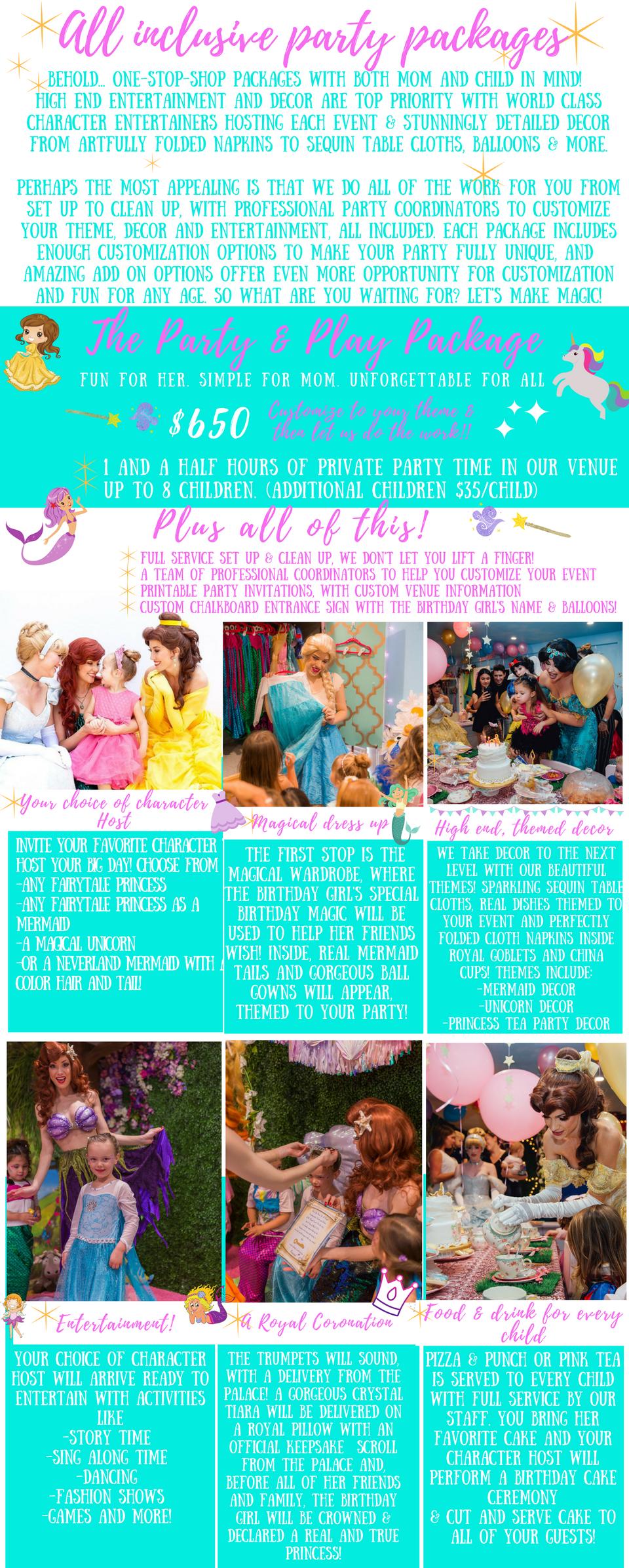 Girls Birthday Party Venue Orange County Oc Southern California Tea