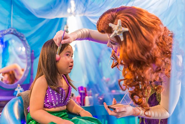 Private Princess Experience with The Little Mermaid
